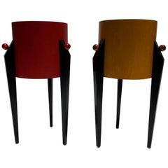 Postmodern Side Tables