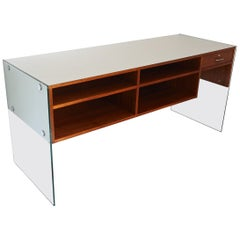 Architectural Display Counter and Storage, Daniel Hechter, France, 1978