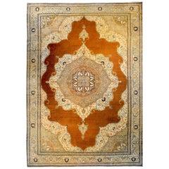 Incredible Late 19th Century Tabriz Haji Jalili Rug