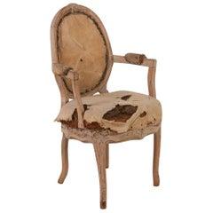 Rococo Armchair, Circa 1760, Origin: Sweden; Featured in Ralph Lauren Windows