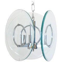 Disks Pendant by Cristal Art