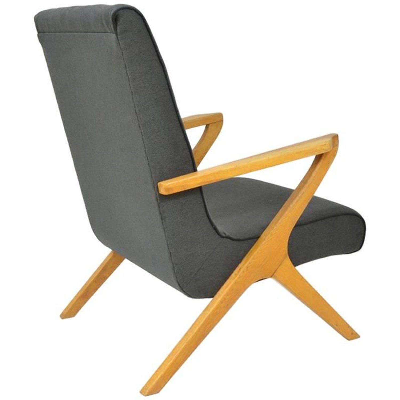 Dark Grey Armchair