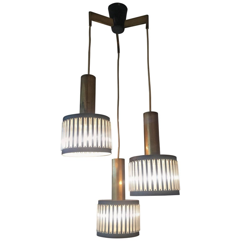 Modernist Ceiling Light from the 1950s