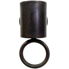 """New Wall Light """"Rincan"""" - Brass Uplighter or Downlighter, Made in Italy"""