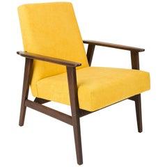 20th Century Mustard Yellow Dante Armchair, 1960s