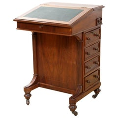 Victorian Lady Walnut Desk, circa 1880