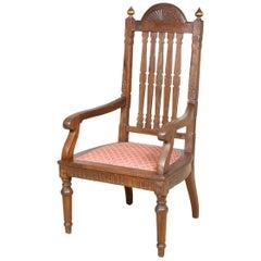 Oak Armchair, circa 1850