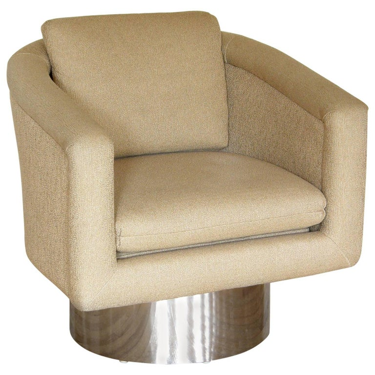 Leon Rosen for Pace Swivel Lounge Chair For Sale