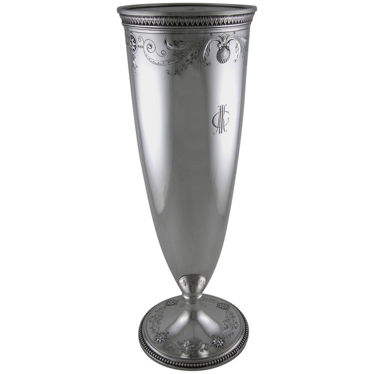 Sterling Tiffany And Co Vase For Sale At 1stdibs