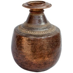 Vintage Copper Water Pot from Nepal, Mid-20th Century