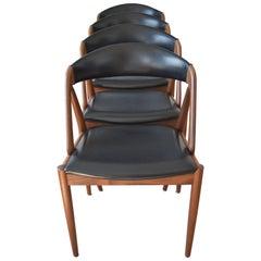 Kai Kristiansen #31 Teak Dining Chairs, 1960s