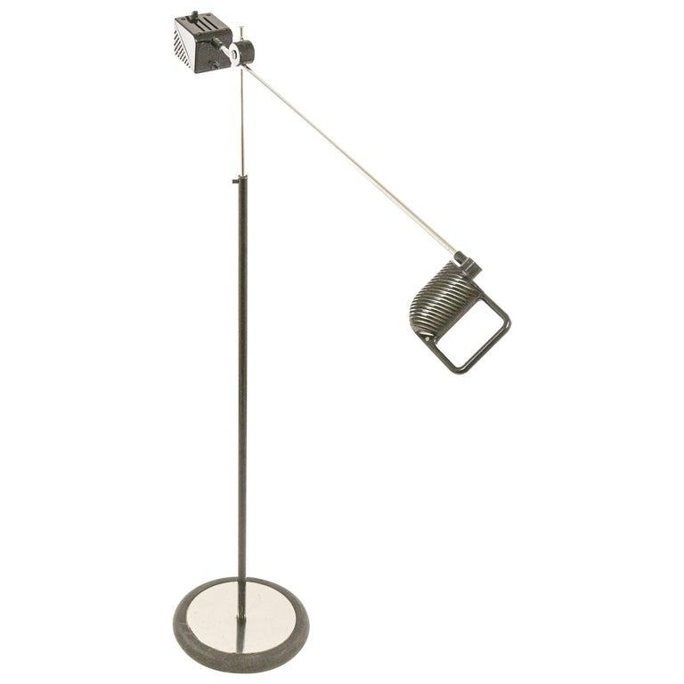 Maniglia Floor Lamp by De Pas, D'Urbino and Lomazzi for Stilnovo, 1970s