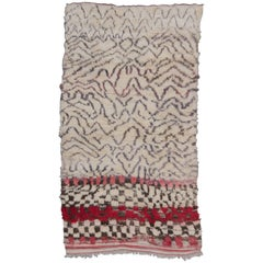 Vintage Moroccan Talsint Rug, Red and Brown
