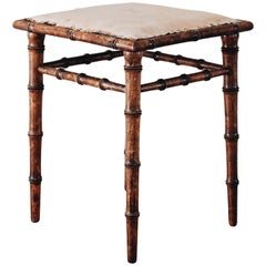 Fine 19th Century Gustavian Stool