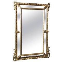Gorgeous Napoleon III Big Mirror, France, 19th Century