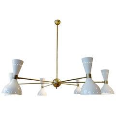 Moonlight De Stilnovo Ceiling Lamp