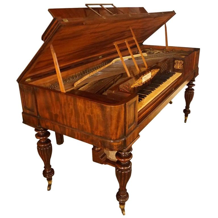 William iv Period Square Piano