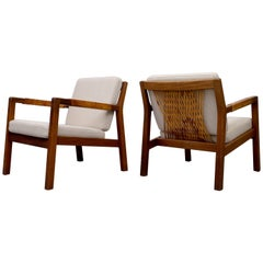 Pair of Armchairs Model Rialto by Carl Gustav Hiort af Ornäs, 1950s