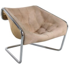 """Kwok Hoi Chan """"Boxer"""" Chair for Steiner, France, 1971"""