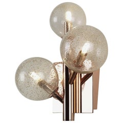 Mimosa Branch Copper Sconce