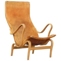 Lounge Chair Mod. Pernilla by Bruno Mathsson for Karl Mathsson, Sweden 1950s