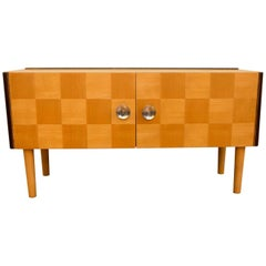 Midcentury Small Commode or Sideboard, Attribute to Jindrich Halabala, 1950s