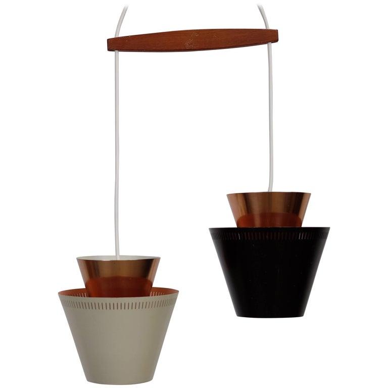 2-in-1 Lamp by Danish Designer Jo Hammerborg for Fog and Mørup