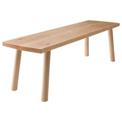 Korben Bench, Solid Hardwood, Customizable