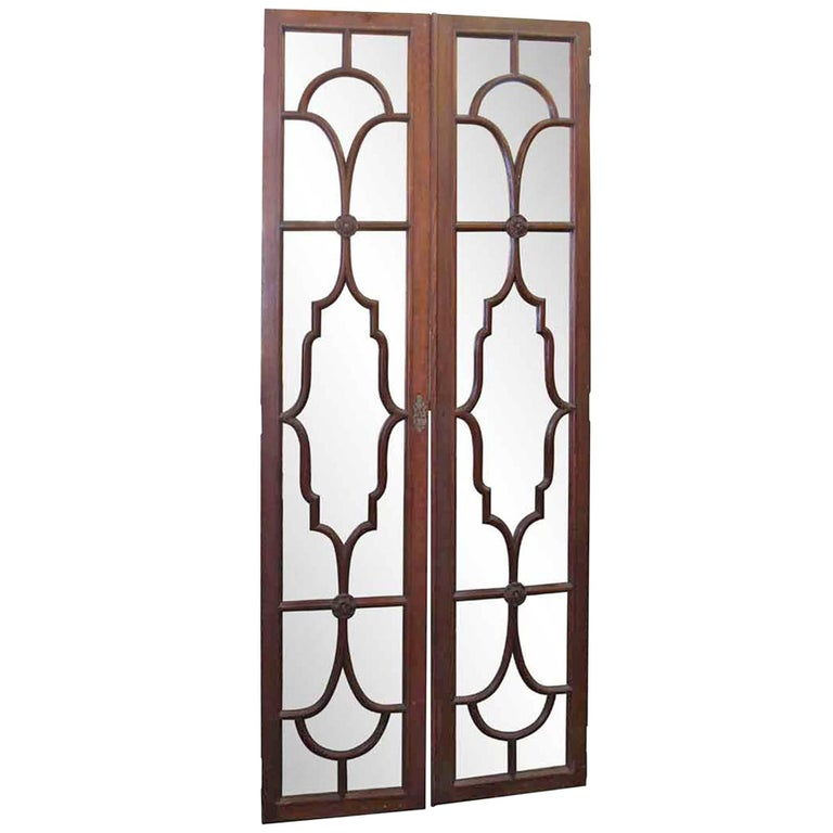 1930s Pair Of Art Deco Interior French Doors For Sale At 1stdibs