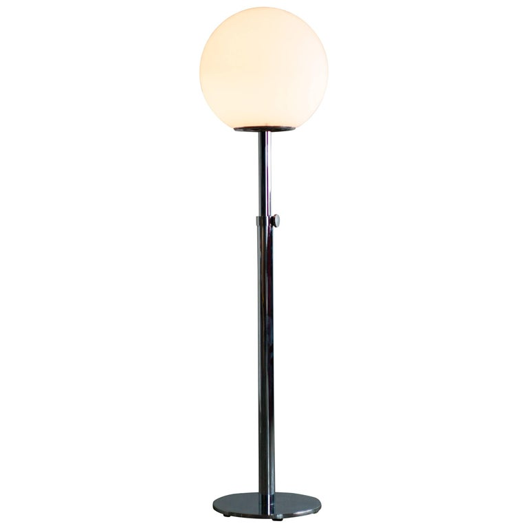 Luci Italia Modern Chrome Floor Lamp
