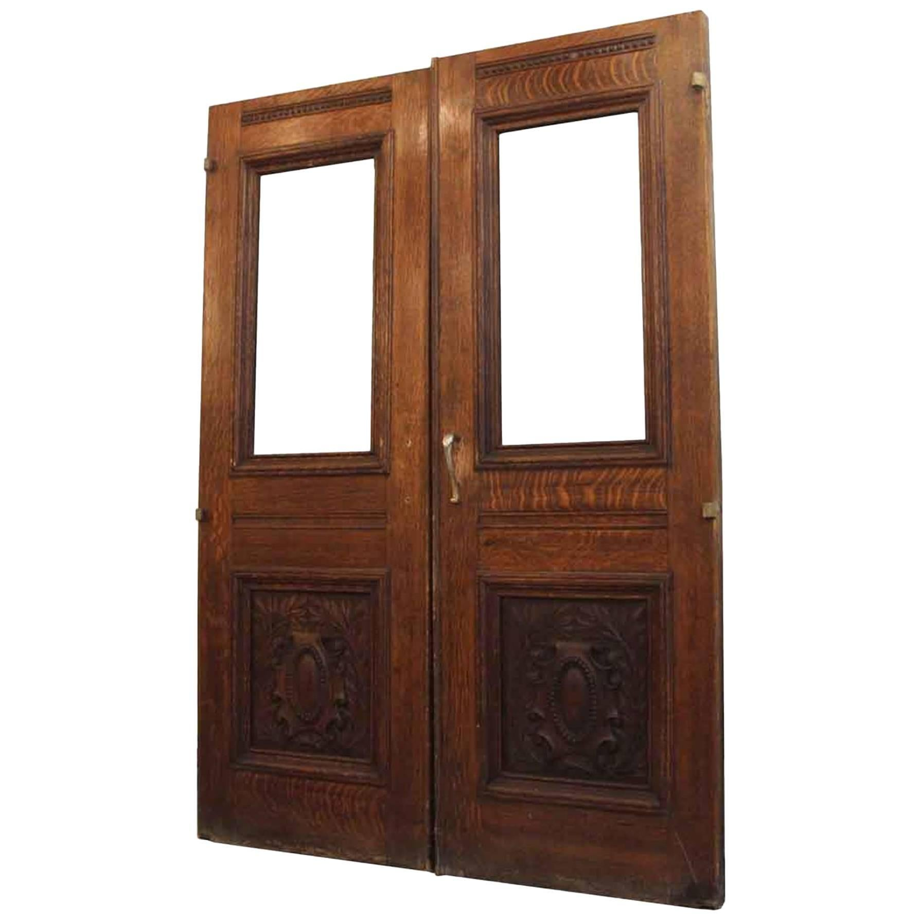 1920s Pair of Carved Solid Oak Double Entry Doors from E. 22nd and Park Ave  sc 1 st  1stDibs & 1920s Doors and Gates - 39 For Sale at 1stdibs