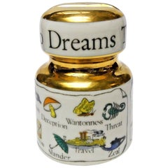 "Vintage Piero Fornasetti ""Key to Dreams"" Insulator Paperweight, 1950s"