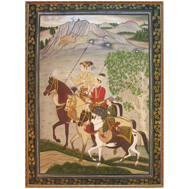 Pichwai Painting in Finally Detailed Decorated Frame