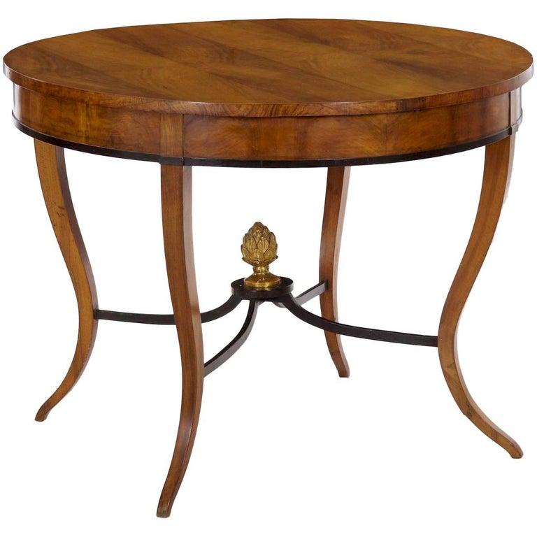 Austrian Biedermeier Fruitwood Centre Table, circa 1825