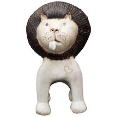 Ceramic Lion by Bruno Gambone, circa 1970s