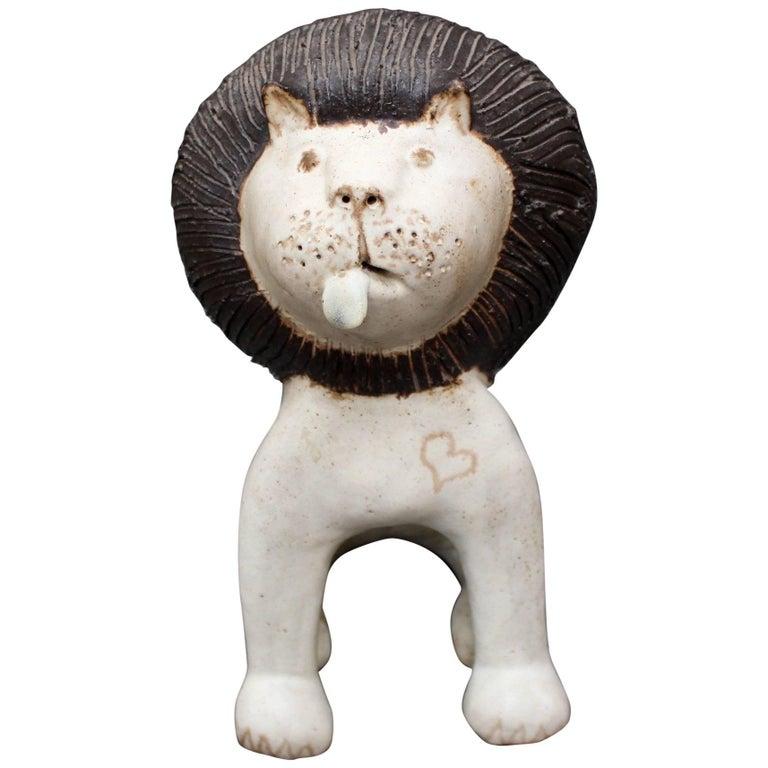 Ceramic Lion by Bruno Gambone, circa 1970s