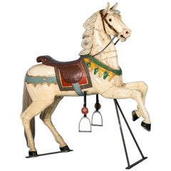 Antique 19th Century Painted Carousel Horse