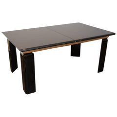 Two-Toned Lacquered Dining Table by Roger Rougier