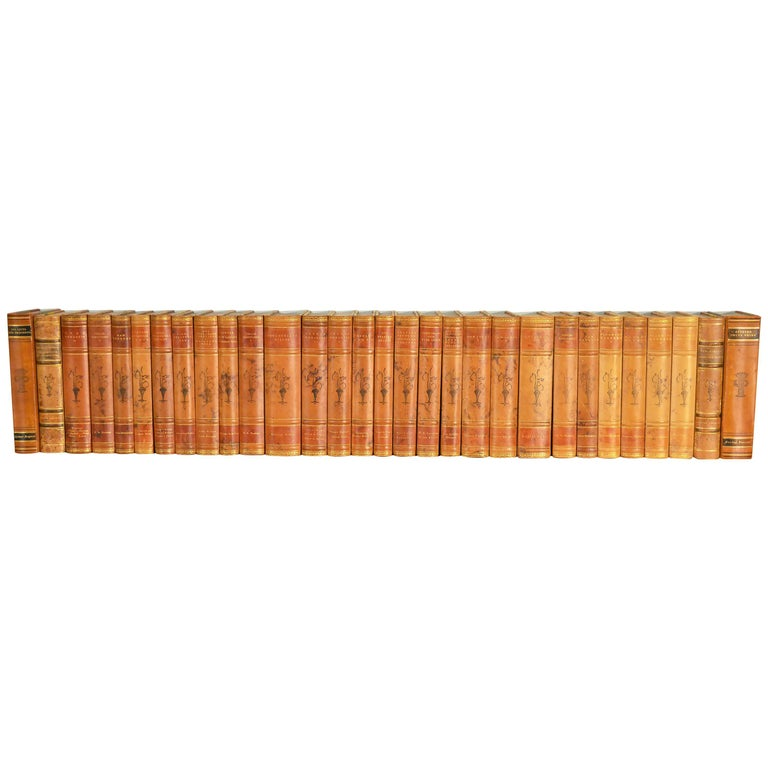 Collection of Leather Bound Books, Series 108