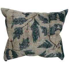 20th Century Turkish Rug Fragment Pillow
