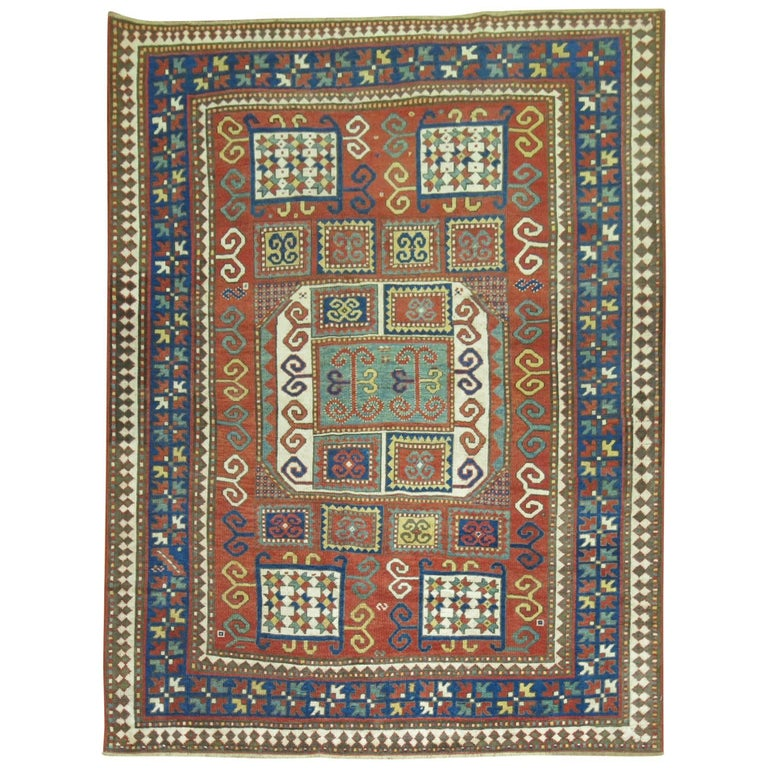 Antique Karachopt Kazak Rug, 'Karachop' For Sale