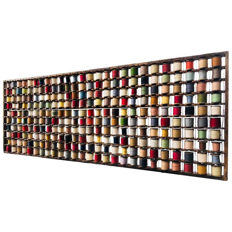 Wall Sculpture, Wool Rack