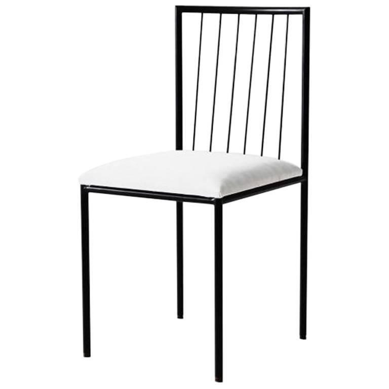 Iron Chair by Geraldo de Barros, Brazil, 1955