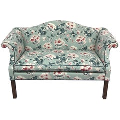 19th Century Floral Settee
