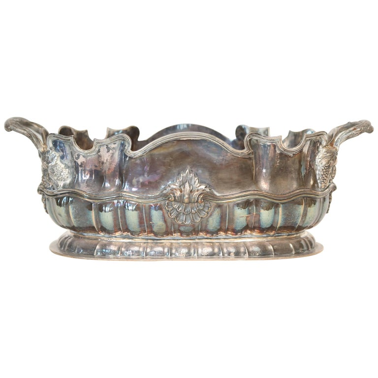 Buccellati Sterling Silver Oblong Centerpiece