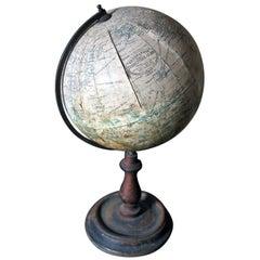 "Early 20th Century 8"" Terrestrial Table Globe 'Geographia', circa 1920-1925"