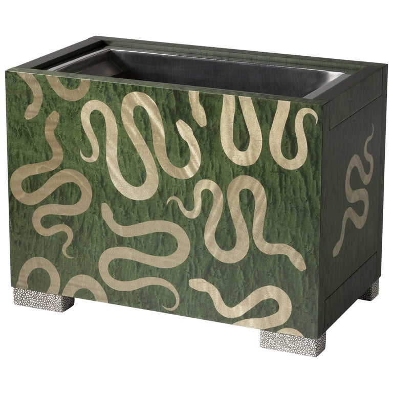"""Zelouf + Bell, """"Serpents,"""" Contemporary Champagne Cooler, Ireland, 2018 For Sale"""
