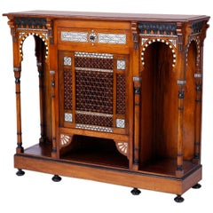 Syrian Inlaid Cabinet or Server