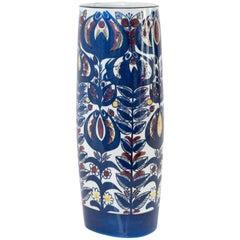 "Inge-Lise Koefoed Designed ""Tenara"" Vase for Aluminia 'Royal Copenhagen'"