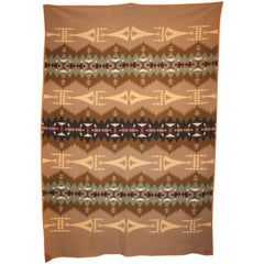 Cayuse Tee Pee Pendleton Indian Blanket